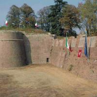 Il bastione di San Benedetto, una delle strutture rimaste dello scomparso castello farnesiano
