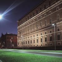 Palazzo Farnese, la vista da via Risorgimento