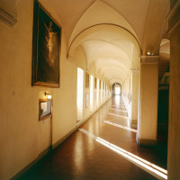 Corridoio al primo piano - foto Collegio Alberoni