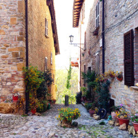 Vicolo del borgo - foto Federica Ferrari