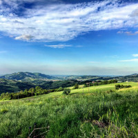 Le colline nei dintorni - foto Federica Ferrari