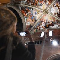 Gli affreschi del Guercino - foto Mauro Del Papa