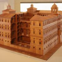 Modello ligneo - foto Musei Civici Palazzo Farnese