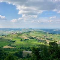 Veduta da Rocca d'Olgisio - foto Federica Ferrari