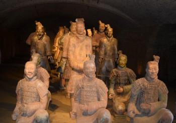 Guerrieri di Xi'an-Cina millenaria