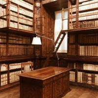 La Biblioteca monumentale del Collegio Alberoni - foto Camilla Calzarossa Lusardi