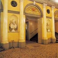 Il foyer del teatro - foto Archivio Libertà