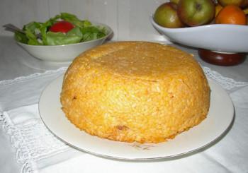 Bomba di riso alla piacentina