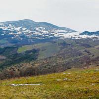 Il Passo Caldarola visto da Brodo