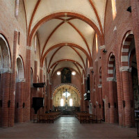 Chiaravalle della Colomba, la navata