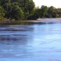 Uno scorcio del fiume Po