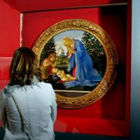 Tondo di Botticelli a Palazzo Farnese