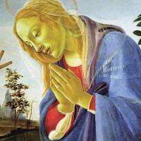 Madonna che adora il Bambino nel Tondo botticelliano